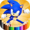 Coloring Sonic Pages APK
