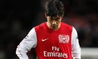 Image result for park cho young signs for arsenal