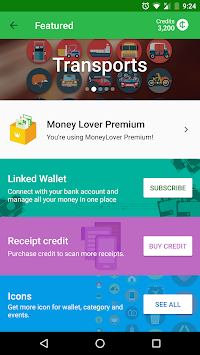 Money Lover -  가계부 APK screenshot thumbnail 8