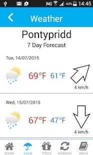 Pontypridd Town Guide- screenshot thumbnail