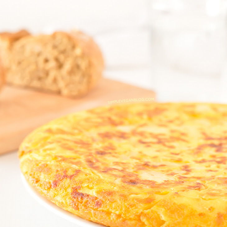 Tortilla (Spanish Omelette). Vegan and Gluten Free