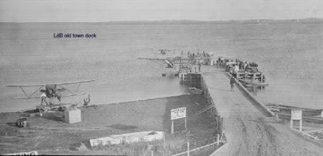 Photo: Lac du Bonnet old town dock.