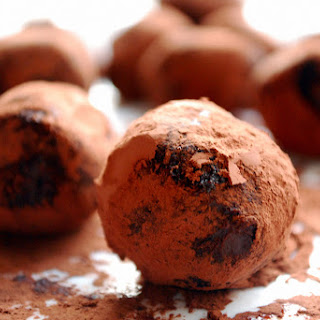 Chocolate Passion Fruit Truffles for a lazy weekend.