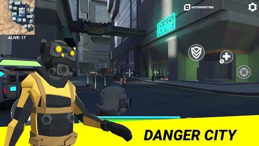 Cyber Fortress: Cyberpunk Battle Royale Frag Squad 1.6 screenshots 4