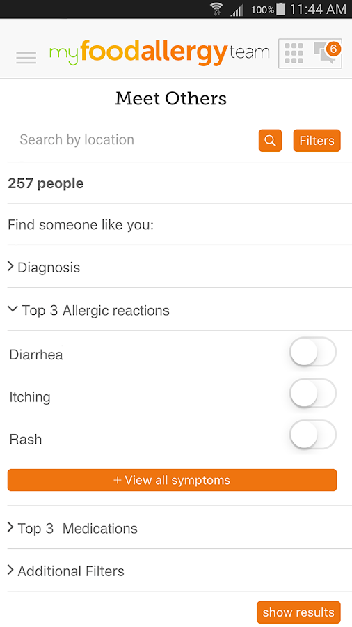 Food Allergy Support- screenshot