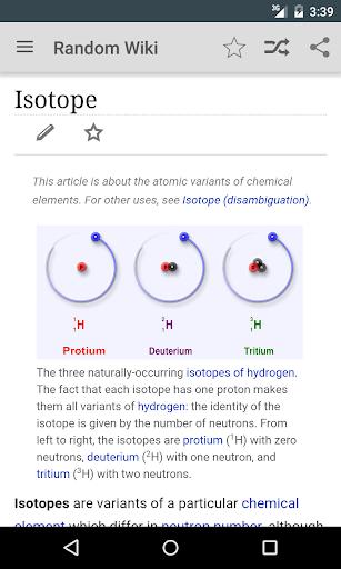 Random Wiki - learn new things