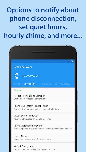 Feel The Wear - Notifications TTS