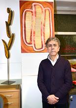 Photo: JAIME CARVAJAL - Holz in Bild und Skulptur. Vernissage am 20.2.2015. Foto; Barbara Zeininger