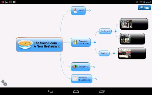 Mindjet for Android screenshot 8