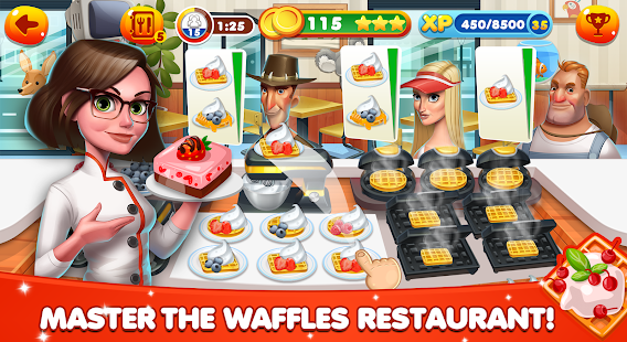 Cooking World – Restaurant Games & Chef Food Fever 15