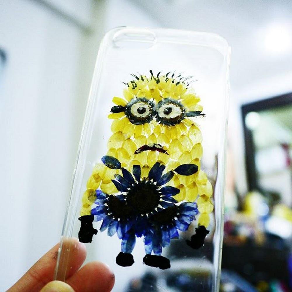 [訂製/custom-made] 多個表情!! Minions Pressed Flower Phone Case