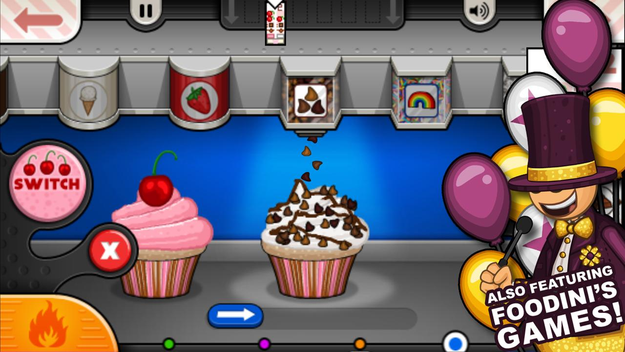 papa louie cupcakeria game