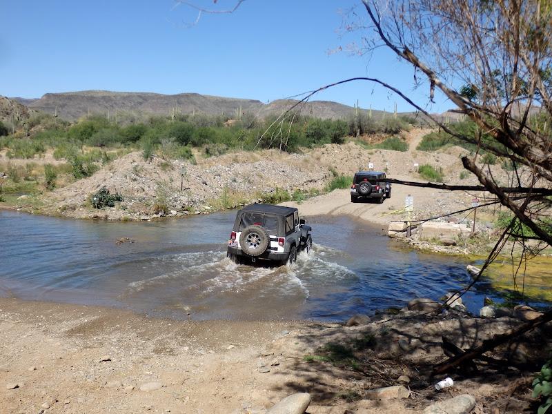 Tip top mine Jeep trip
