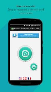 Free Business Card Reader for Base CRM - náhled