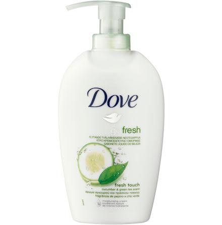 Dove Fresh touch tvål. 250ml