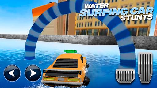 Download Water Surfing Car Stunts MOD APK 2