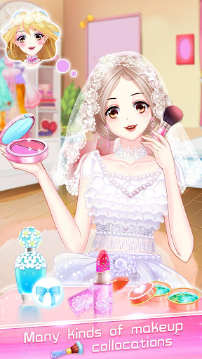 ud83dudc70ud83dudc92Anime Wedding Makeup - Perfect Bride  screenshots 1