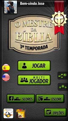 O jogo de perguntas bíblia - screenshot