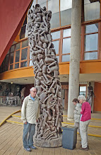 """Photo: A """"Tree of Life"""" carved by the Makonde"""