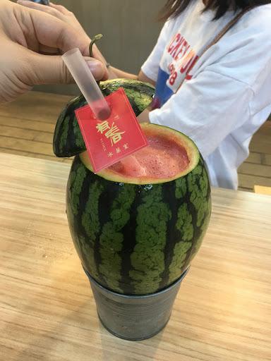 西瓜很甜,很好拍~