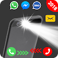 Flash on Call and SMS: Automatic flashlight 2018