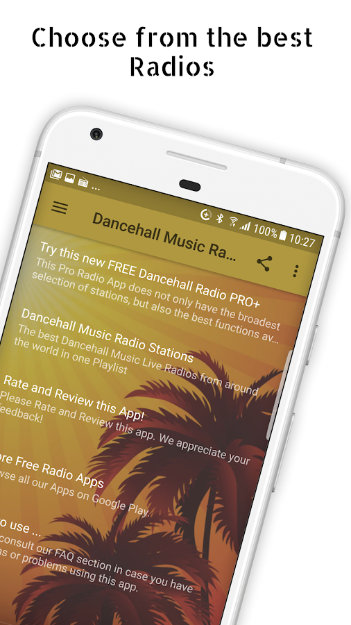 Dancehall Music Radio Stations- screenshot