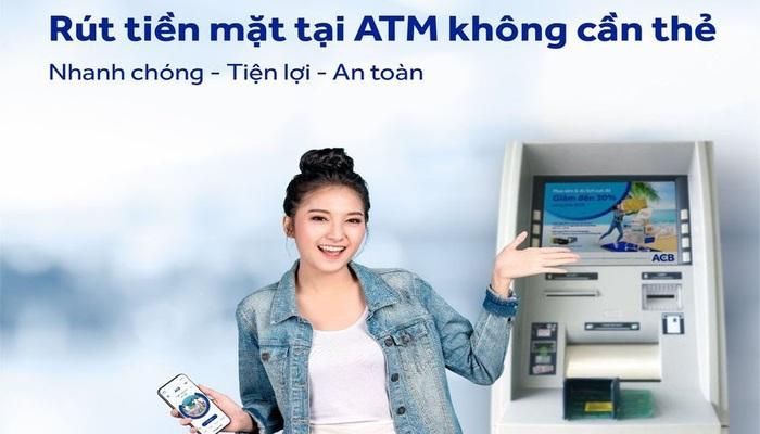 Rút tiền không cần thẻ