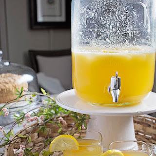 Peach Lemonade (Spiked or Virgin).