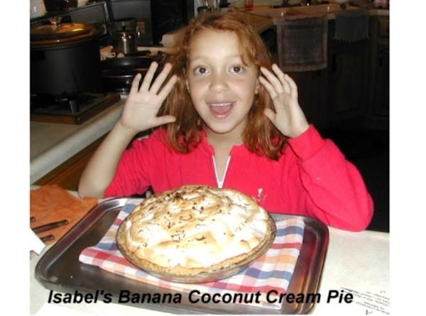 Banana Coconut Cream Pie Recipe