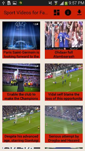Sports Videos on Facebook