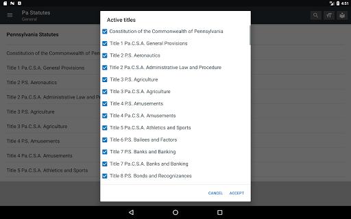 Pennsylvania Statutes 2018 (all free offline) 0.01 screenshots 8
