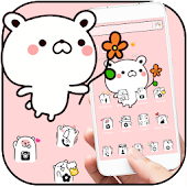 Lovely Cartoon Bear Theme Android APK Download Free By Fantastic Design
