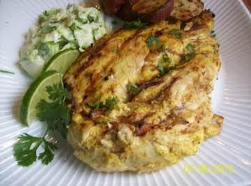 Indian Spicebox Grilled Chicken