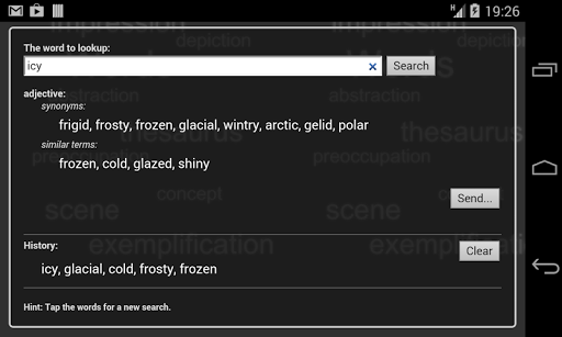 Thesaurus Free screenshot 5