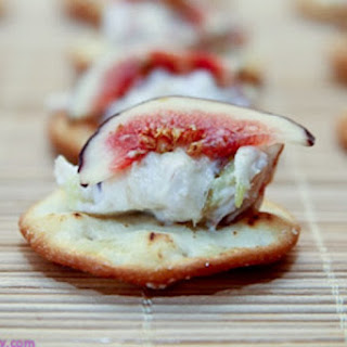 Goat Cheese & Fig Bites {Favorite Holiday Recipe}