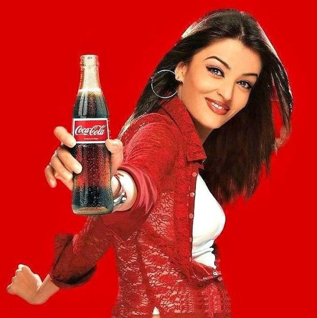 Aishwarya Rai ad of cocacola