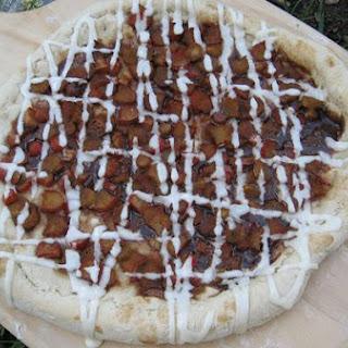 Ritk's Rhubarb Pizza