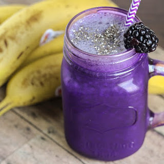 Blackberry Smoothie Without Yogurt Recipes