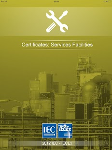 IECEx Service Certificates- screenshot thumbnail