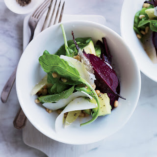 Beet, Avocado and Arugula Salad
