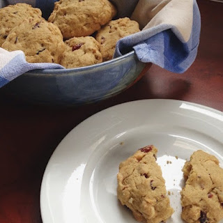 Gluten Free Cranberry, Macadamia & White Chocolate Cookies