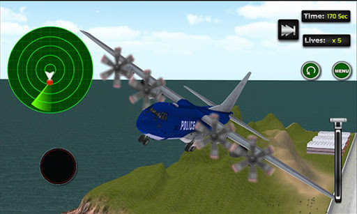 パトカー飛行機交通|玩賽車遊戲App免費|玩APPs
