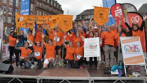 Marathon Eurodistrict 2015 / 45 coureurs au profit du projet de L'Arche à Strasbourg
