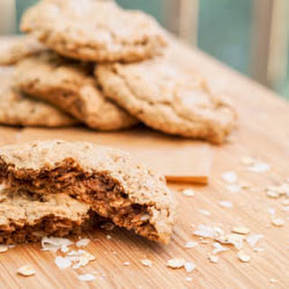 Gluten Free Oatmeal Cookies with Almond Butter and Coconut Recipe