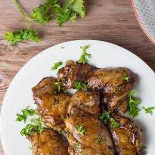 Balsamic Chicken Thighs.