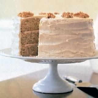 New England Maple-Walnut Cake