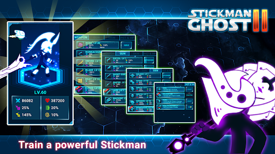 Stickman Ghost 2: Gun Sword - Shadow Action RPG Screenshot