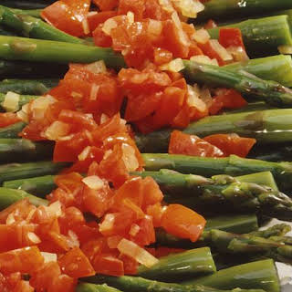 Asparagus with Tomatoes.