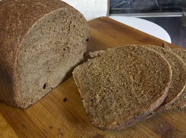 Pumpernickel Bread For Bread Machine Recipe