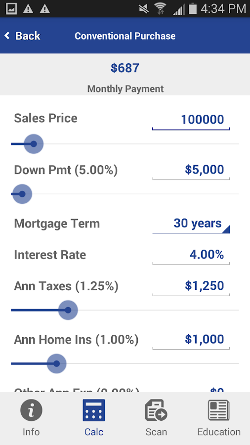 how to find maximum monthly mortgage payment